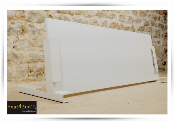 kit pieds support pour radiateur infrarouge